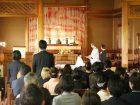 卒園礼拝および保育証書授与式